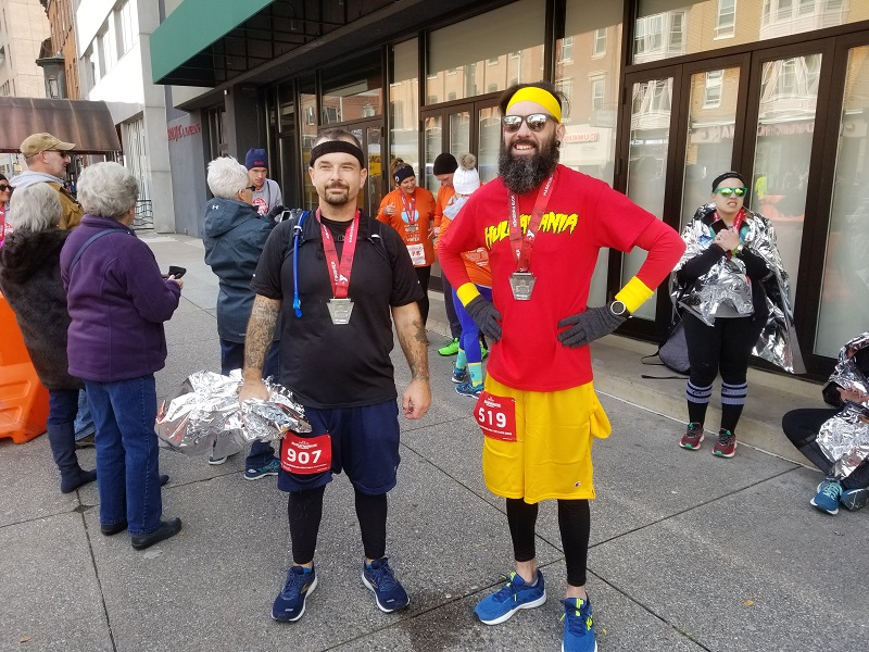 Two Sons Complete Harrisburg Marathon