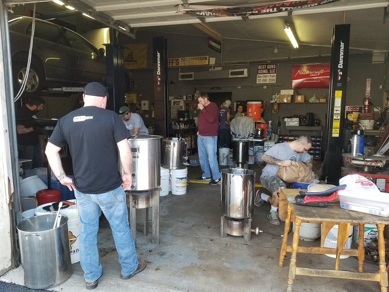 Sons Club Brew Day