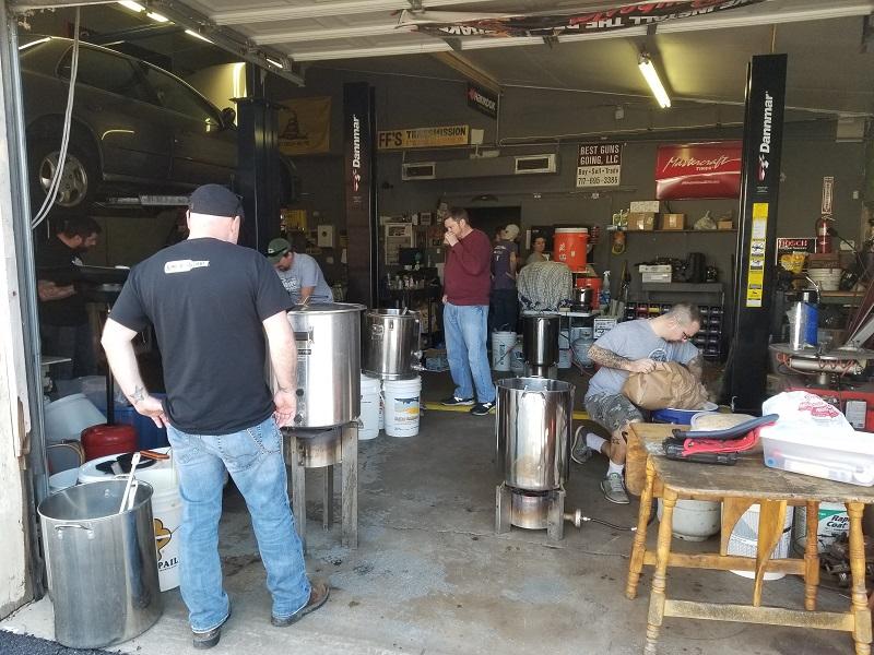 Sons Club Brew Day